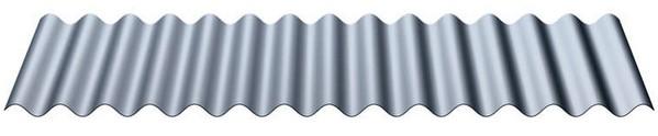 Pozinkovaný vlnitý plech - Lacný vlnitý a trapézový plech 723949df8a1